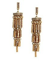 ASOS Jewelled Chandelier Earrings