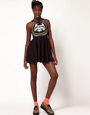 Image 4 ofFairground Gorilla Skater Dress