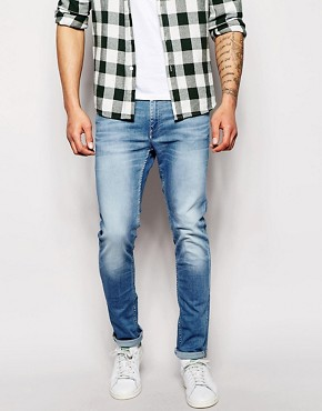 Jack & Jones Skinny Fit Washed Jeans