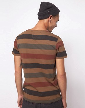 Image 2 ofMinimum Washed Stripe T-Shirt