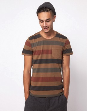 Image 1 ofMinimum Washed Stripe T-Shirt