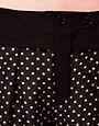 Image 3 of Sonia by Sonia Rykiel Silk Pants in Polka Dot Print