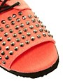 Image 4 ofASOS FEARLESS Studded Flat Sandals