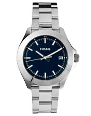 Reloj de acero de inoxidable Retro Traveller AM4442 de Fossil