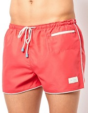 Oiler &amp; Boiler East Hampton Retro Swim Shorts