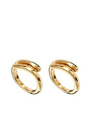 ASOS Multipack Swivel Band Rings