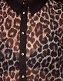 Image 3 ofRiver Island Animal Print Shirt