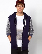 River Island Design Sleeved Hoody