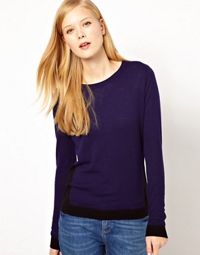 Image 1 ofWhistles Adele Colour Block Sweater