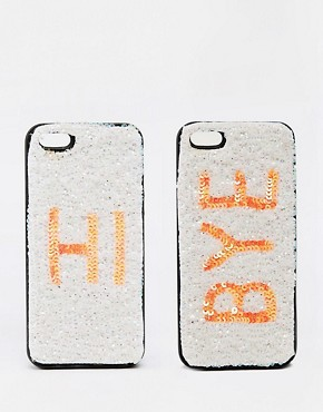 ASOS Hi Bye iPhone 5 Twin Phone Cases