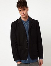Lee Jacket Coated Lapel Blazer