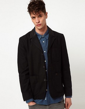 Image 1 ofLee Jacket Coated Lapel Blazer