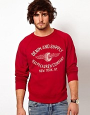 Sudadera con logo estampado de Denim & Supply Ralph Lauren