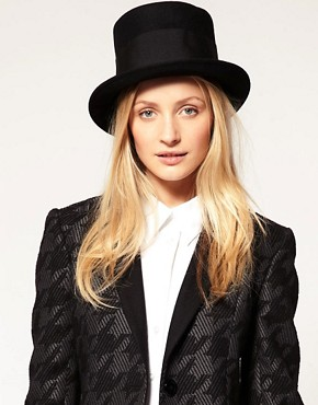 Image 1 ofCatarzi Exclusive For Asos Tall Top Hat