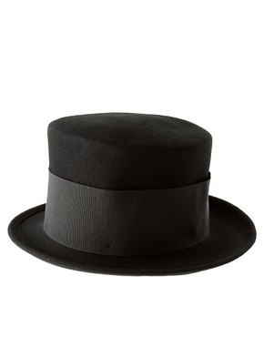 Image 2 ofCatarzi Exclusive For Asos Tall Top Hat