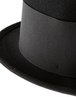 Image 3 ofCatarzi Exclusive For Asos Tall Top Hat