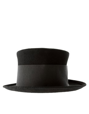 Image 4 ofCatarzi Exclusive For Asos Tall Top Hat