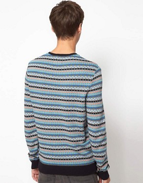 Image 2 of ASOS Lightweight Fairisle Jumper