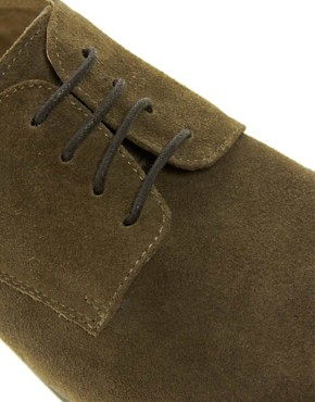 Image 2 ofASOS Derby Shoes in Suede