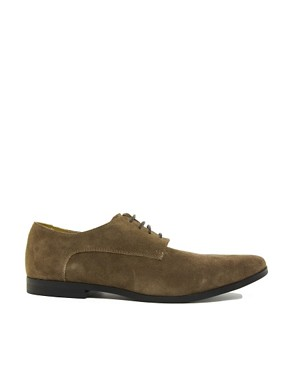 Image 4 ofASOS Derby Shoes in Suede