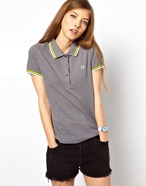 Image 1 ofFred Perry Tipped Polo Shirt