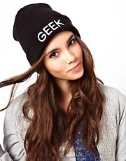 ASOS  GEEK  Strickmtze