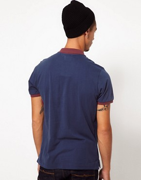 Image 2 ofBoxfresh Polo With Chambray Pocket