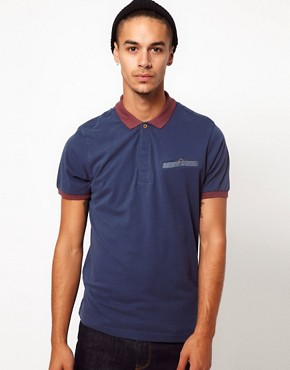 Image 1 ofBoxfresh Polo With Chambray Pocket
