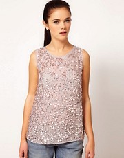 River Island Swing Embellished Tank