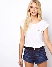 A Wear Zip Pocket T-Shirt