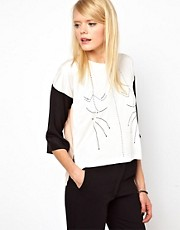 Antipodium Liquify Top With Print