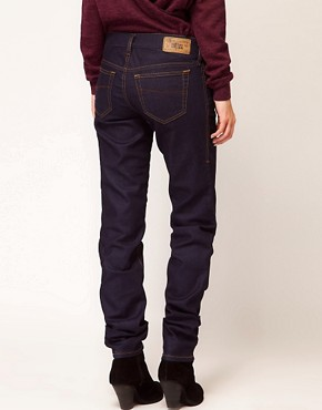 Image 2 ofDiesel Getlegg Raw Skinny Jeans
