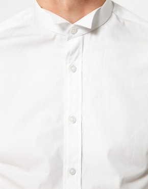 Image 3 ofASOS Smart Shirt With Wing Collar