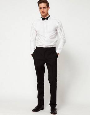Image 4 ofASOS Smart Shirt With Wing Collar