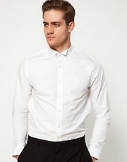ASOS Smart Shirt With Wing Collar
