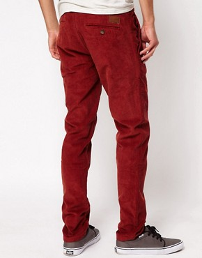 Image 2 of Minimum Slim Fit Cord Trouser