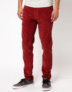 Image 1 of Minimum Slim Fit Cord Trouser