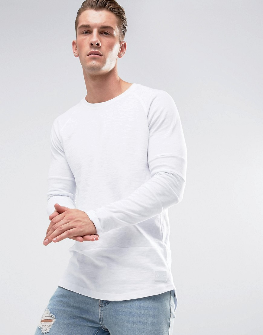 Just Junkies Long Sleeve Top - White