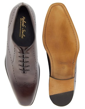 Image 3 ofRolando Sturlini Punch Detail Oxford Shoes