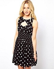 ASOS Sundress In Spot Print