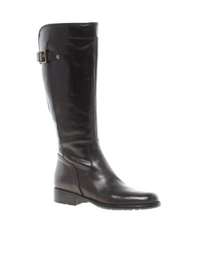 Image 1 ofDune Thax Knee High Buckled Riding Boots