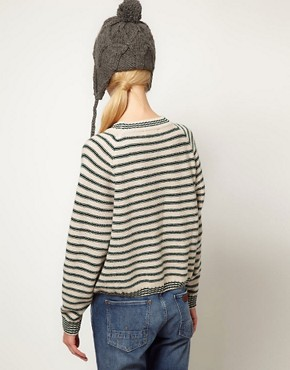 Image 2 of YMC Super B's Stripe Sweater