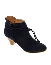 Sessun Palermo Navy Ankle Boots