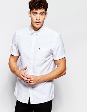 Jack Wills Oxford Shirt with Short Sleeves