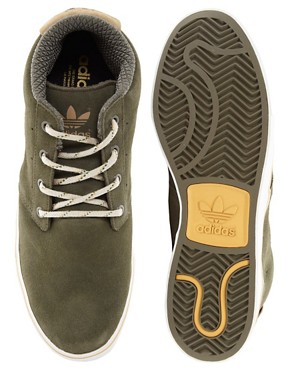 Image 3 ofAdidas Originals Foray Suede Chukka Boots