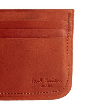 Image 4 ofPaul Smith Jeans Leather Cardholder