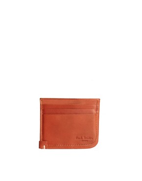 Image 1 ofPaul Smith Jeans Leather Cardholder
