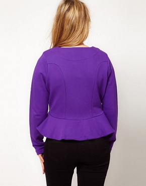 Image 2 ofASOS CURVE Peplum Jacket
