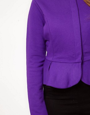 Image 3 ofASOS CURVE Peplum Jacket