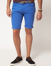 River Island Blue Denim Shorts